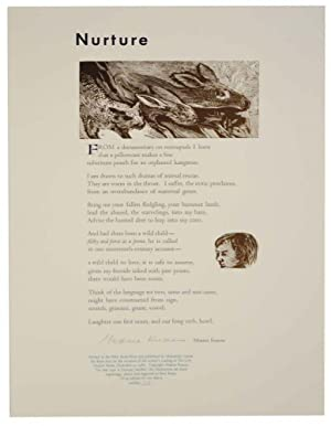 Nurture (Signed Broadside)