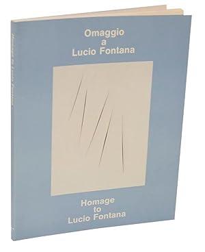 Omaggio a Lucio Fontana / Homage to: LICHT, Fred -Lucio