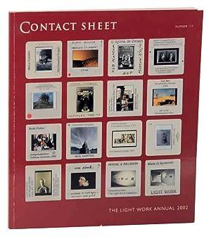 Contact Sheet Number 117: The Light Work: HOONE, Jeffrey- Lori