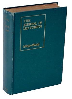 The Journal of Leo Tolstoi (First Volume: TOLSTOI, Leo (TOLSTOY)