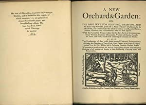 A New Orchard and Garden/The Country Housewife's Garden