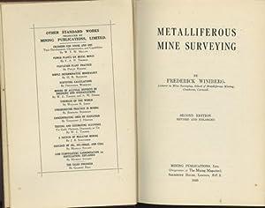 Metalliferous Mine Surveying: Winiberg, Frederick