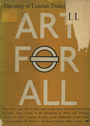Art for All - London Transport Posters: Laver, James (intro.)