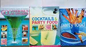 Cocktails & Party Food (Two Fabulous Cookbooks in One Special Gift Box)