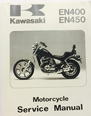 Kawasaki EN400 EN450 Motorcycle Service Manual