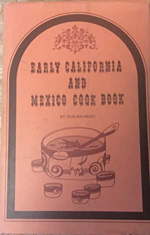 Early California and Mexico Cook Book