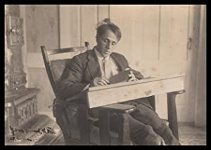 Robert Frost, in His Writing Chair