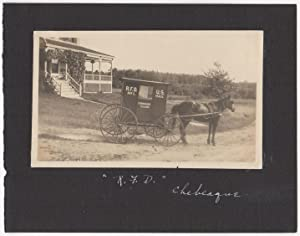 Mail carriage on Chebeague Island, Maine