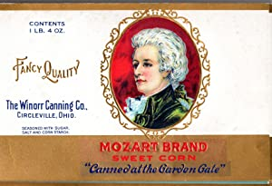 Mozart Brand Labels; Woodlawn; Sunbrite