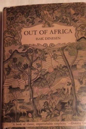 Out Of Africa By Dinesen Isak Random House New York border=