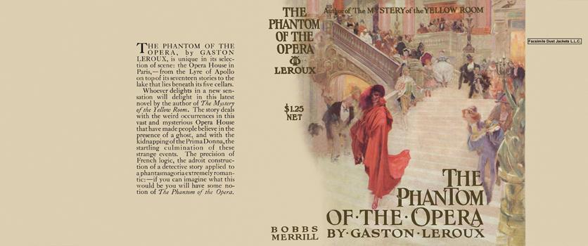 Phantom of the Opera Leroux, Gaston Fine Hardcover