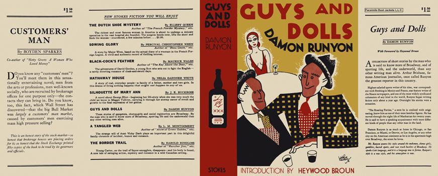 Guys and Dolls Runyon, Damon Near Fine Hardcover