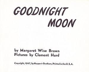 Goodnight Moon: Brown, Margaret Wise