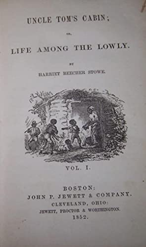 Uncle Tom's Cabin (2 volume set): Stowe, Harriet Beecher