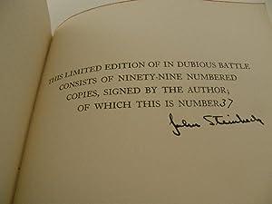 In Dubious Battle: Steinbeck, John