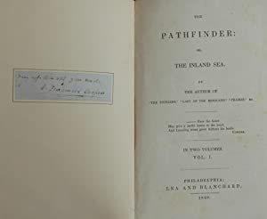 The Pathfinder: Or, The Inland Sea, in 2 Volumes: Cooper, James Fenimore