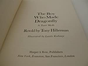The Boy Who Made Dragonfly: Hillerman, Tony