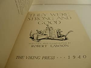 They Were Strong and Good: Lawson, Robert