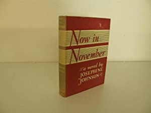 Now in November: Johnson, Josephine