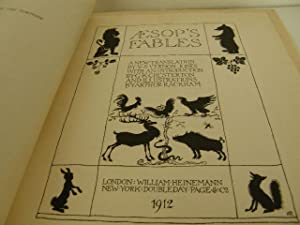 Aesop's Fables: Rackham, Arthur (translated by Vernon Jones with an introduction by G.K. ...