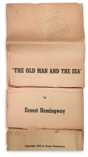 he Old Man and the Sea (Advance: Hemingway, Ernest