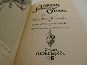 Tarzan and the Jewels Opar: Burroughs, Edgar Rice