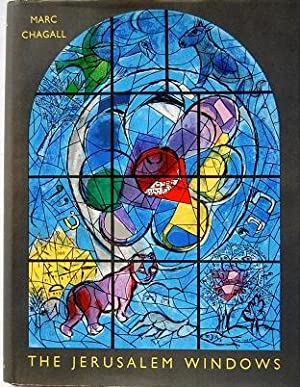 The Jerusalem Windows (with ORIGINAL Lithograph painting): Chagall, Marc