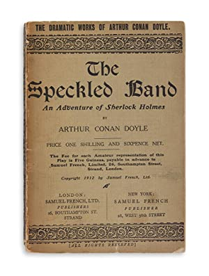 The Speckled Band. An Adventure of Sherlock Holmes.: Doyle, Conan A.