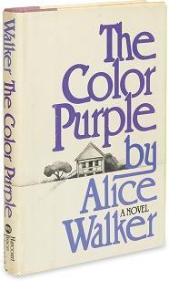 Alice Walker - Color Purple - Hardcover - First Edition - AbeBooks