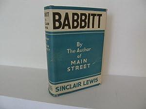 Babbitt: Lewis, Sinclair
