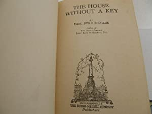House without a key: Biggers, Earl Derr