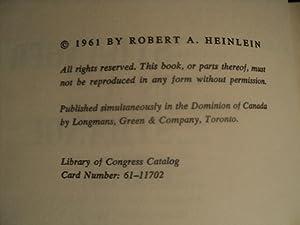 Stranger in a Strange Land: Heinlein, Robert A.