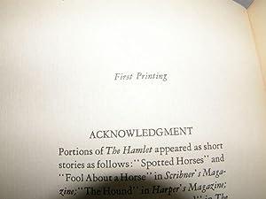 Hamlet: Faulkner, William