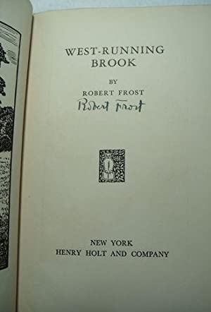 West Running Brook: Frost, Robert