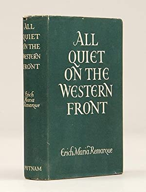 All Quiet on the Western Front: Remarque, Erich Maria