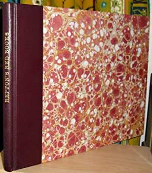 The Red Books of Humphry Repton. [Volume: Repton, Humphry: 1752-1818]