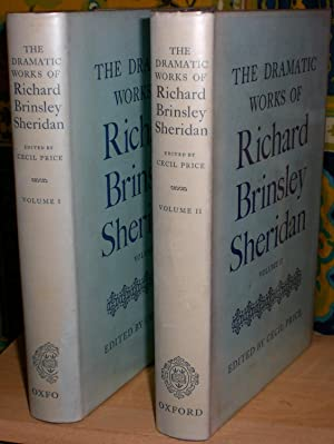 The Dramatic Works of Richard Brinsley Sheridan.: SHERIDAN (RICHARD BRINSLEY)