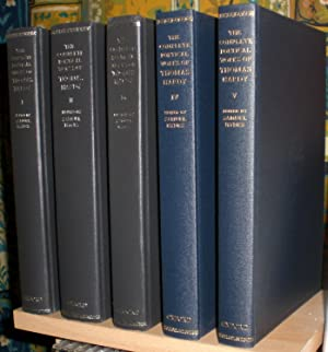The Complete Poetical Works of Thomas Hardy. Edited by Samuel Hynes. In five (5) volumes. [Oxford...