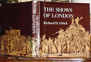 The Shows of London: A Panoramic History of Exhibitions, 1600-1862.