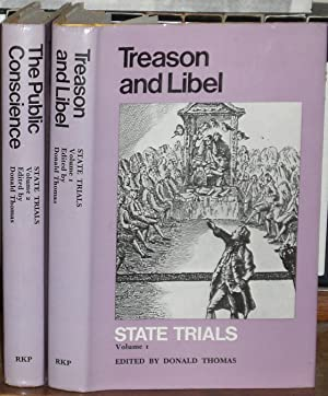 State Trials: volume 1, Treason and Libel; volume 2, The Public Conscience.