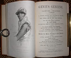 Genius Genuine by Samuel Chifney, of Newmarket. A Fine Part in riding a Race, known only to the A...