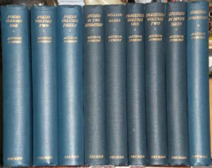 The Collected Works of Arthur Symons. In nine (9) volumes