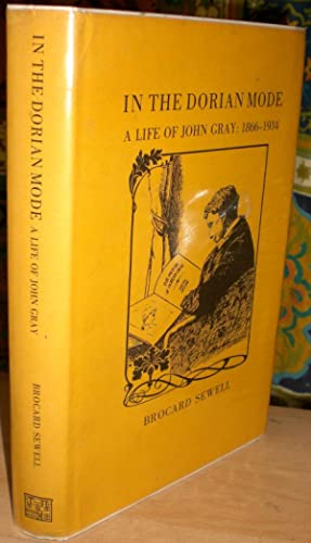 In The Dorian Mode: A Life of John Gray, 1866-1934.