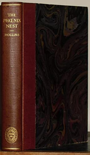 The Phoenix Nest 1593. Edited by Hyder Edward Rollins.