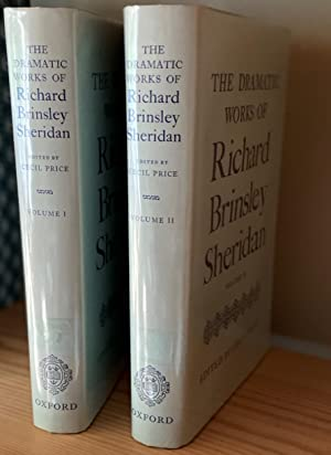 The Dramatic Works of Richard Brinsley Sheridan. Edited by Cecil Price. In two volumes. [Oxford E...