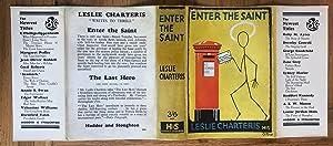 ENTER THE SAINT: CHARTERIS LESLIE