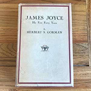 JAMES JOYCE HIS FIRST FORTY YEARS: JOYCE JAMES