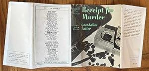 RECEIPT FOR MURDER: BUTLER GWENDOLINE
