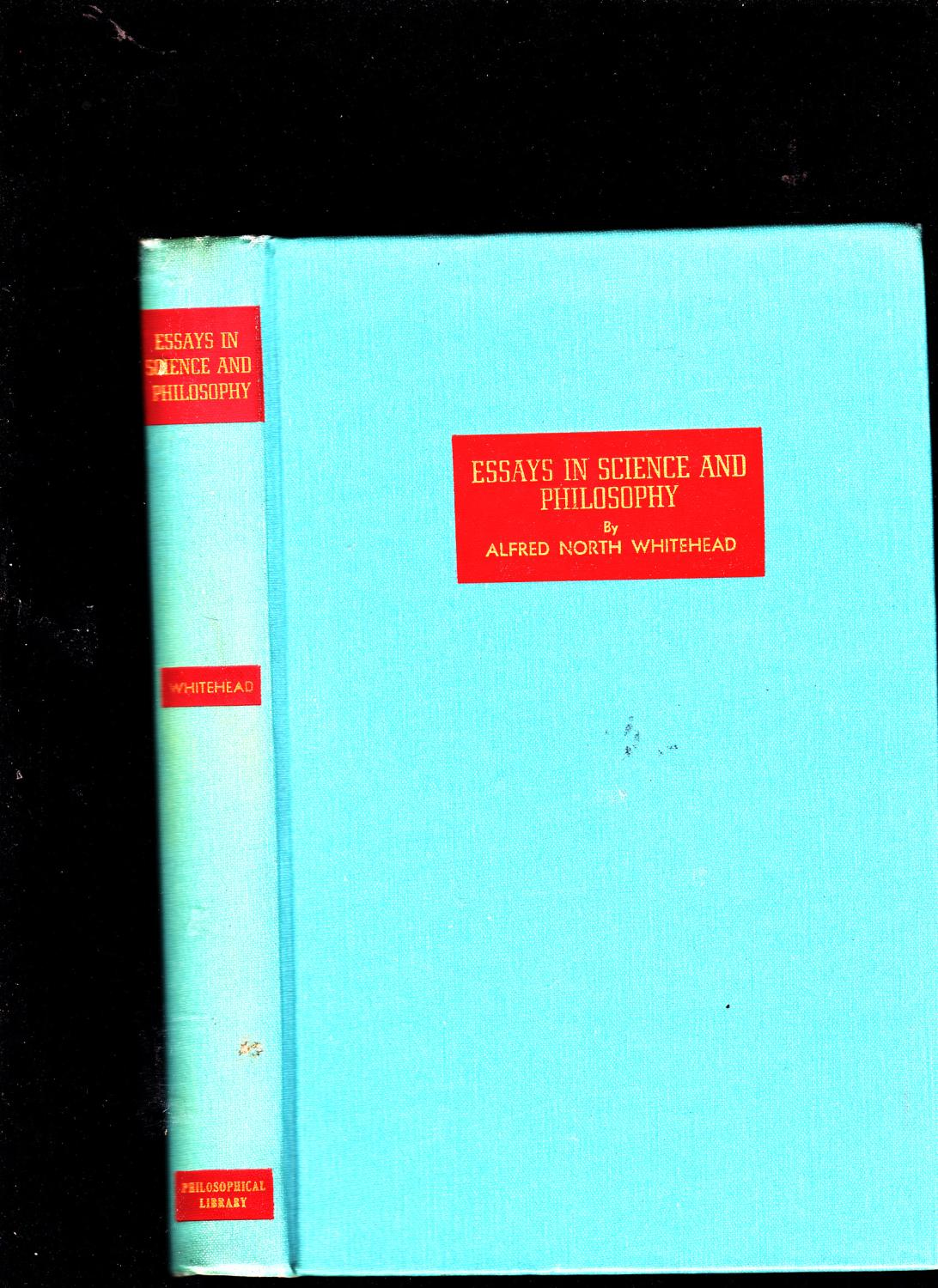 essays science philosophy by whitehead alfred north abebooks