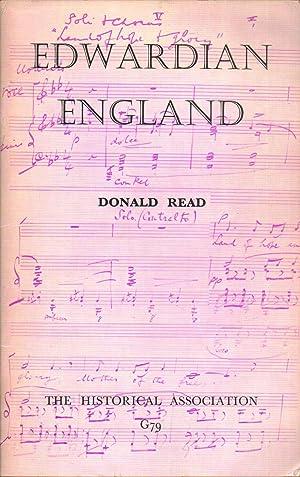 Edwardian England: Donald Read